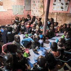 kibera school class